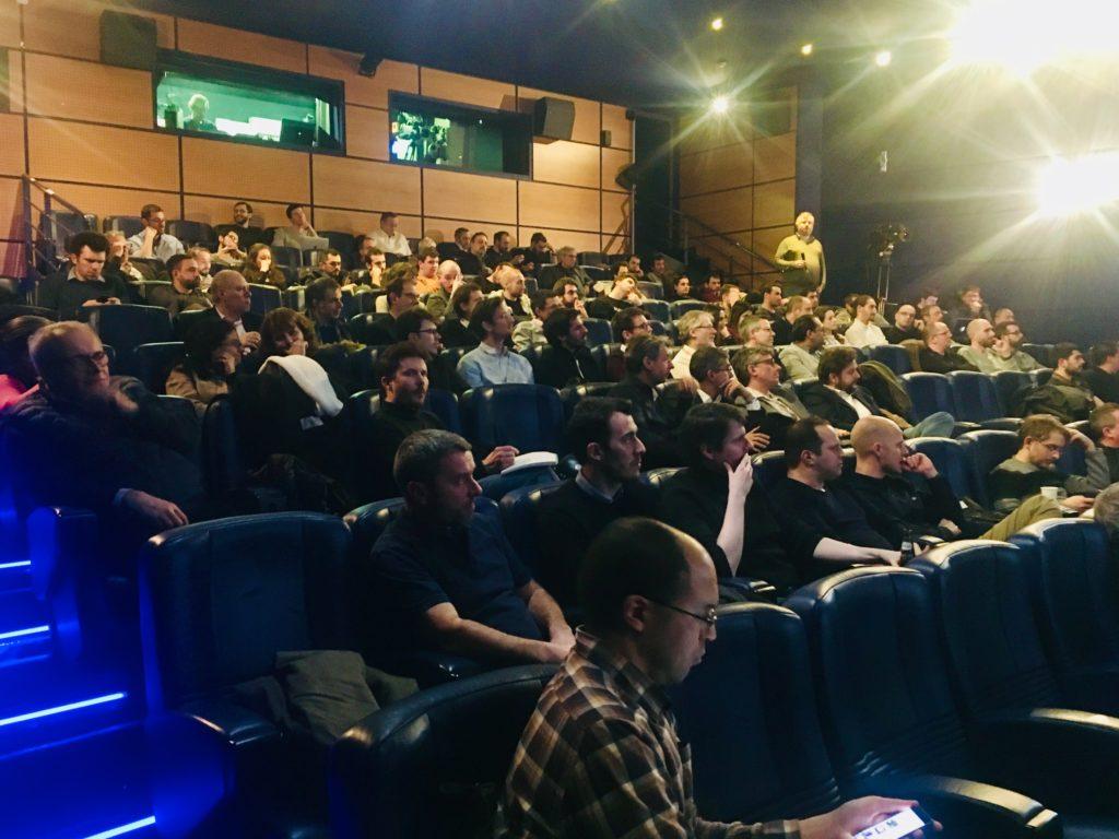 Paris Video Tech Meetup #11 Audience